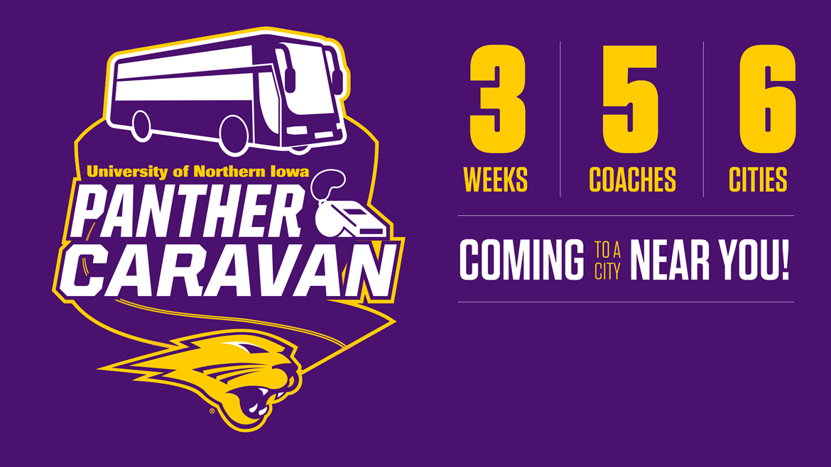 Panther Caravan - 2 Weeks - 5 Coaches - 6 Cities - Coming to a city near you!